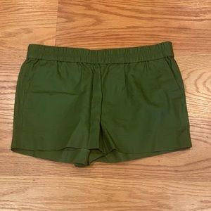 J.Crew NWT Green Shorts